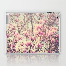 Magnolia Blossoms Early Spring Botanical Laptop & iPad Skin