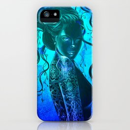 Moody Blue  iPhone Case