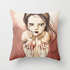 RED RIVER Throw Pillow