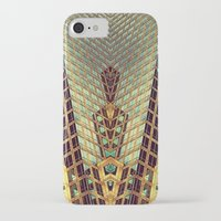 art deco iPhone & iPod Cases featuring Art Deco by Sabina Miklowitz