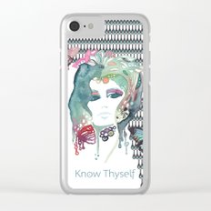 Know Thyself Clear iPhone Case