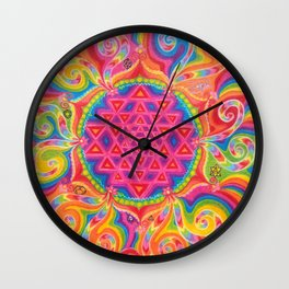 Meditative State Wall Clock