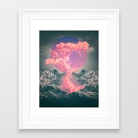 soul Framed Art Prints featuring Ruptured Soul  by soaring anchor designs