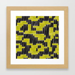 Tight weave Framed Art Print