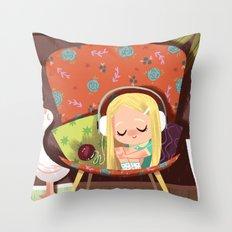 Slow It Down Throw Pillow