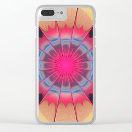 Socialize Clear iPhone Case