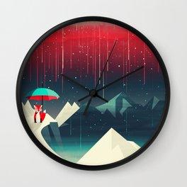 Geminids Meteor Shower Wall Clock