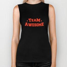 Team Awesome Biker Tank