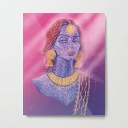 The Indian Bride Metal Print