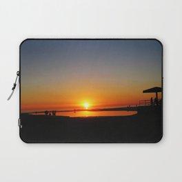 Californian Ocean sunset Laptop Sleeve