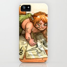 Kitsune Mischief iPhone Case