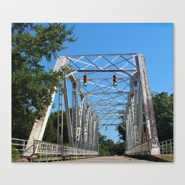 North 6th Street Bridge Canvas Print