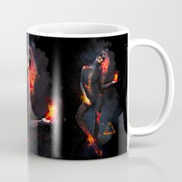 Fire Witch - Elements Collection Coffee Mug