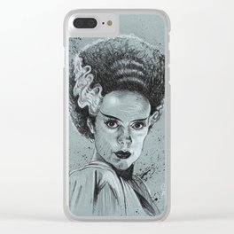 The Bride of Frankenstein Clear iPhone Case