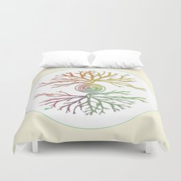 Tree of Life in Balance Duvet Cover