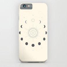 Moon Phases Light iPhone 6s Slim Case