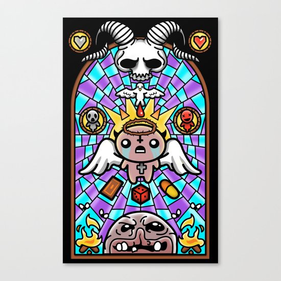 The Binding - Vitral Canvas Print
