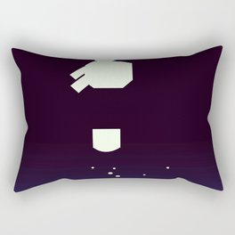 Deep Impact Space Art Rectangular Pillow