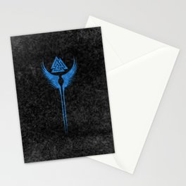 Vikings Valkyrie of Odin Stationery Cards