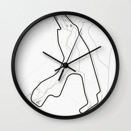Circuit de Spa-Francorchamps, Stavelot, Belgium Wall Clock