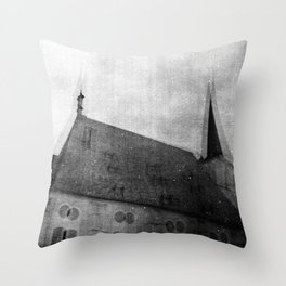 D. du Maurier Throw Pillow