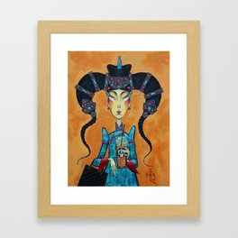Mongolian Coffee Framed Art Print