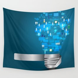 Communication Wall Tapestry