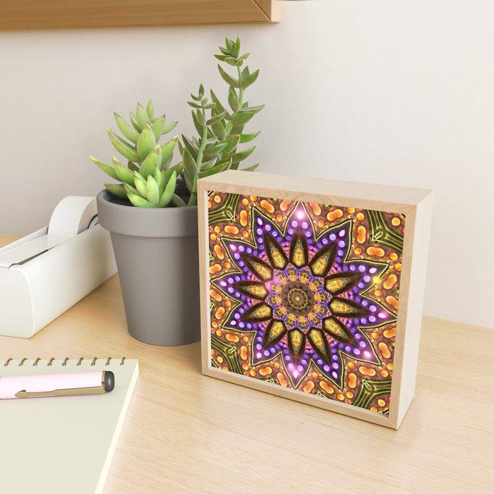 Bohemian Sun Framed Mini Art Print
