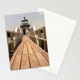White Lighthouse I Stationery Cards