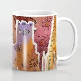 Oxford watercolor #1 Coffee Mug