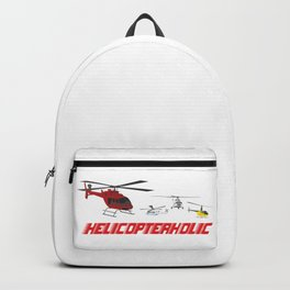 Professional Helicopter Pilot Backpack