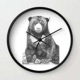 Malayan Sun Bear (Beruang Madu) Wall Clock