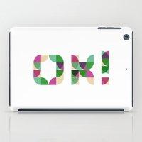 kim sy ok iPad Cases featuring OK! by Manon Pntx