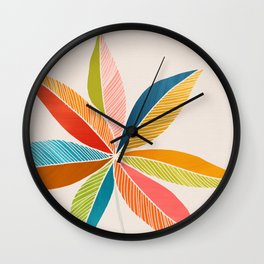 Multicolorful Wall Clock