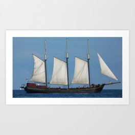 Ship 2 Art Print