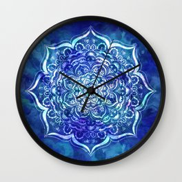 Mystical Mandala Wall Clock