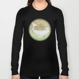 The ghost of Captain Ahab, Moby Dick Long Sleeve T-shirt