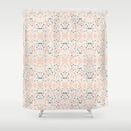 stained glas Shower Curtain