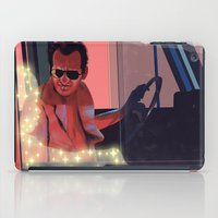 taxi driver iPad Cases featuring Taxi driver by AnnArk