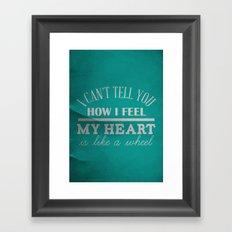 let me Framed Art Print