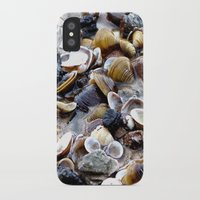 shells iPhone & iPod Cases featuring Shells by Anne Seltmann