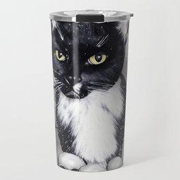 Witches Cat Travel Mug