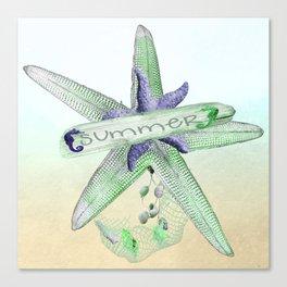 Sealife Starfish Canvas Print