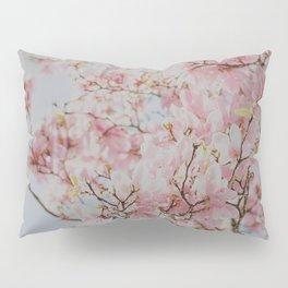 Pastel Pink Magnolias Pillow Sham