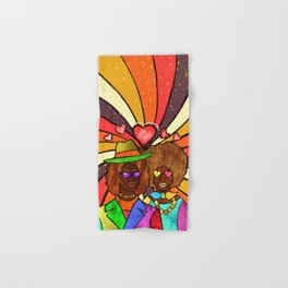 70's Love Hand & Bath Towel