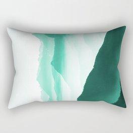 Creamy Mountains Rectangular Pillow