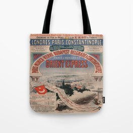 Vintage poster - Orient Express Tote Bag