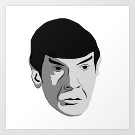 Highly Illogical Art Print