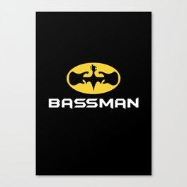 Bassman Canvas Print