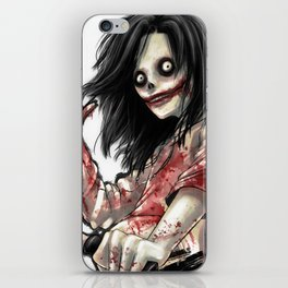 Jeff The Killer iPhone Skin